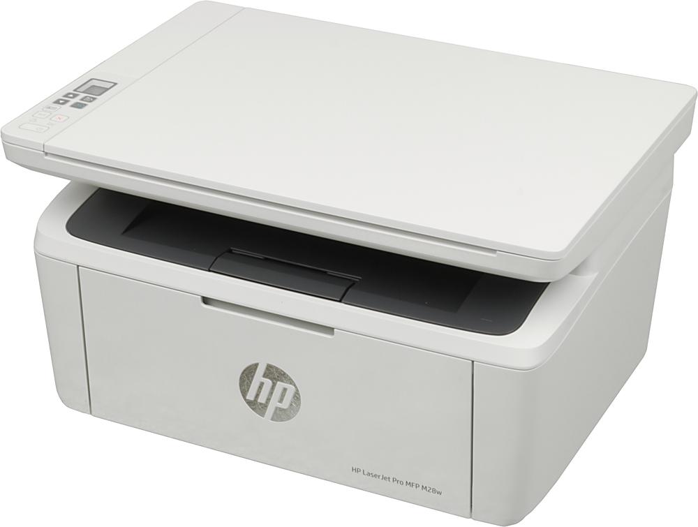 Лазерное МФУ HP LaserJet Pro MFP M28w