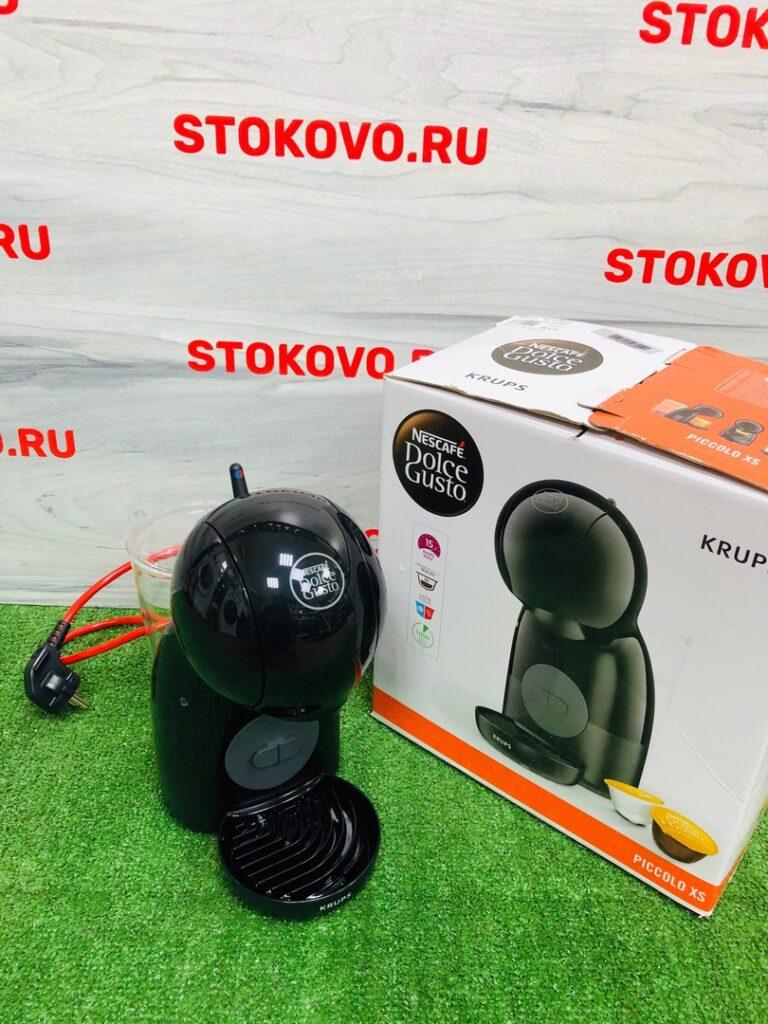 Капсульная кофемашина Krups Piccolo XS KP1A3B100