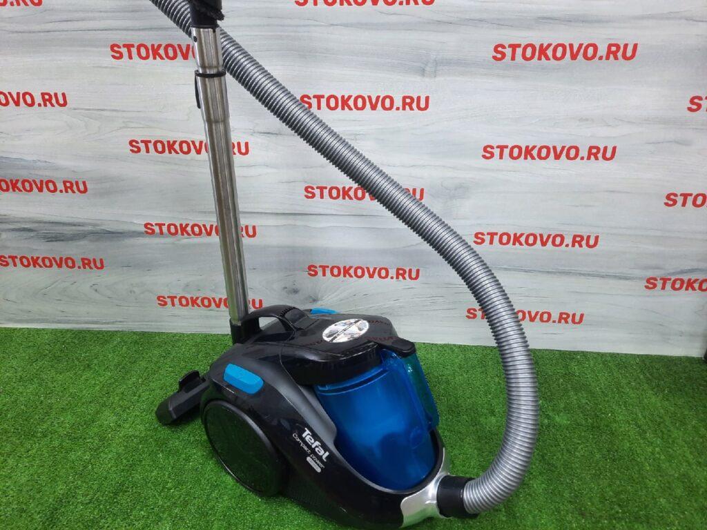 Пылесос с контейнером для пыли Tefal Compact Power TW3731RA