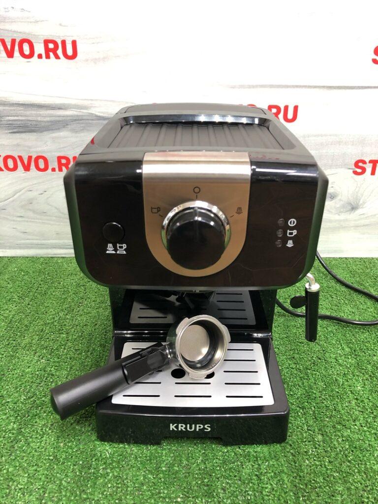 Кофеварка рожковая Krups Opio XP320830